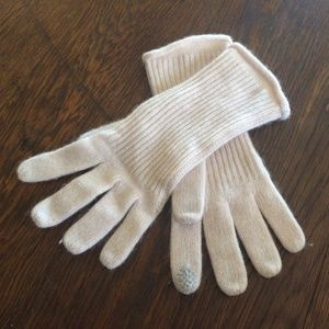 Halogen Cashmere Blush Pink Gloves